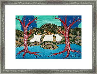 Three Sheets To The Wind Framed Print by Randall Weidner