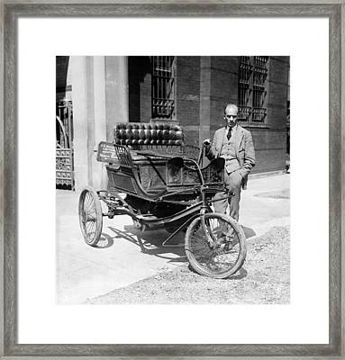 Three-wheel Automobile Framed Print by Granger