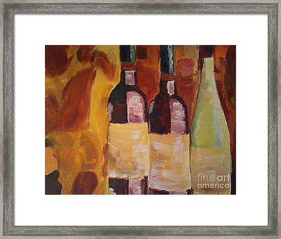 Three's A Party Framed Print by J Von Ryan