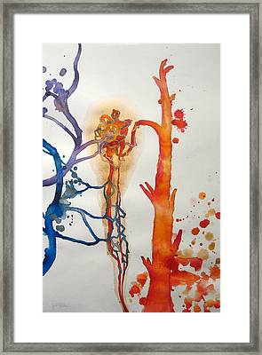 Thromb Framed Print