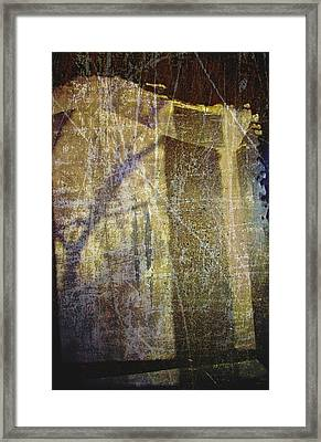 Through A Glass Darkly Framed Print by Odd Jeppesen