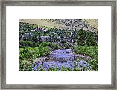Through My Eyes Framed Print by Madeline Ellis