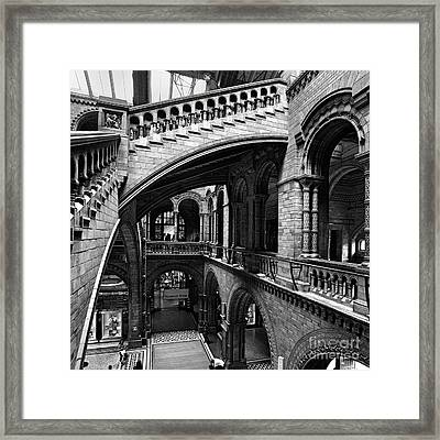 Through The Arches Framed Print by Martin Williams