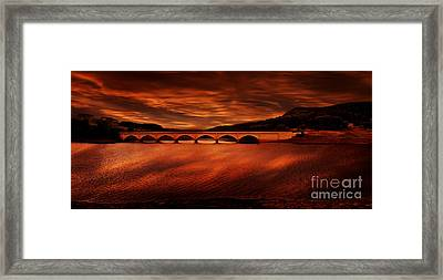 Through The Arches Framed Print by Nigel Hatton