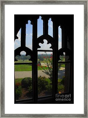 Framed Print featuring the photograph Through The Chapel Arches by Cindy Manero