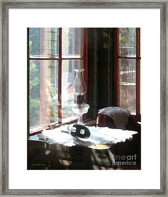 Through The Looking Glass Framed Print by Cristophers Dream Artistry