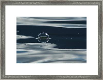 Framed Print featuring the photograph Through The Milky Way In My Spaceship by Cathie Douglas