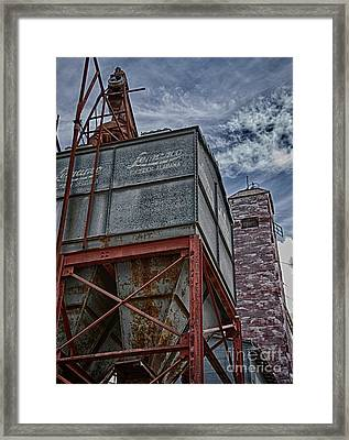 Through The Mill Framed Print by Ken Williams