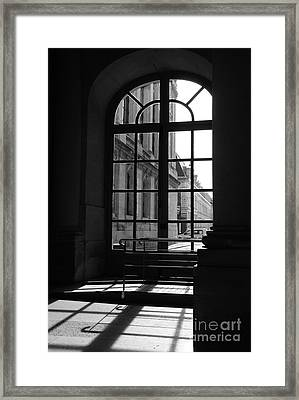 Through The Window Framed Print by Ivy Ho