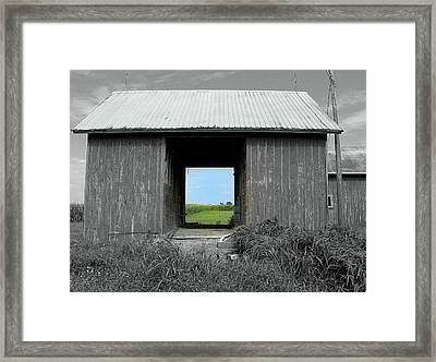 Through The Years Framed Print by Claude Oesterreicher