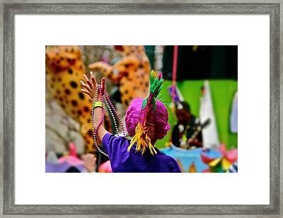 Throw Me Something Mister Framed Print by Jim Albritton