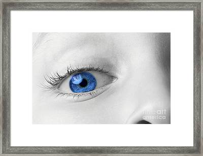 Thru A Childs Eye Framed Print by Richard Thomas