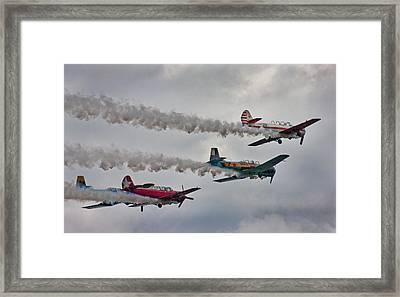 Thunder Framed Print by Betsy Knapp
