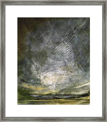 Thunder In The Distance Framed Print