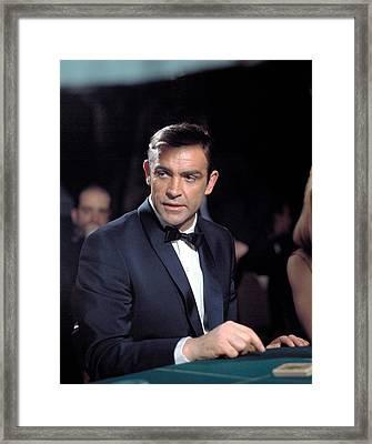 Thunderball, Sean Connery, 1965 Framed Print by Everett