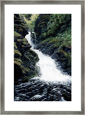 Thunderbird Falls Framed Print by Kurt Jacobson