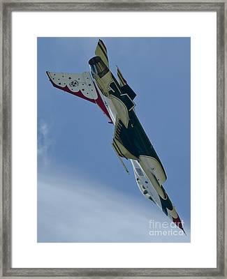 Thunderbird Loop Framed Print by Tim Mulina