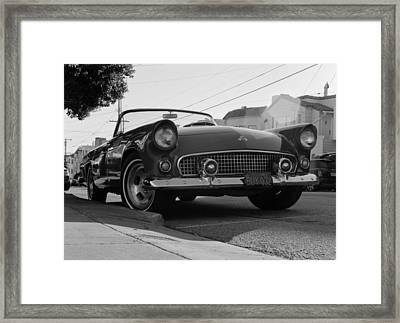 Framed Print featuring the photograph Thunderbird by Luis Esteves