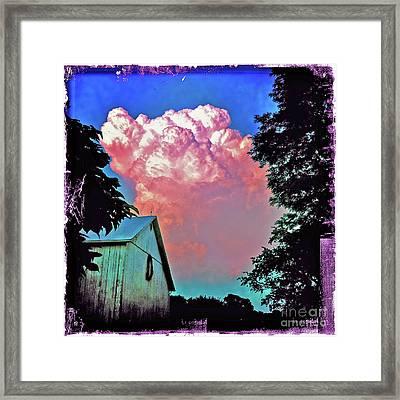 Thunderhead Framed Print by Kevyn Bashore