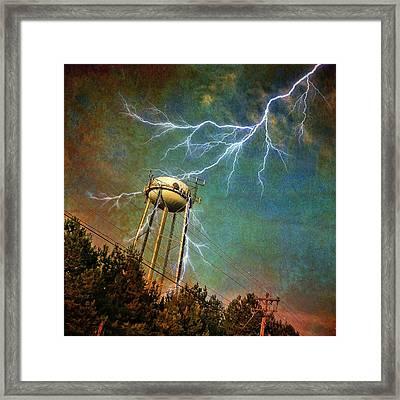 Thundering Bolts Framed Print