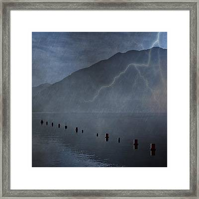Thunderstorm Framed Print by Joana Kruse