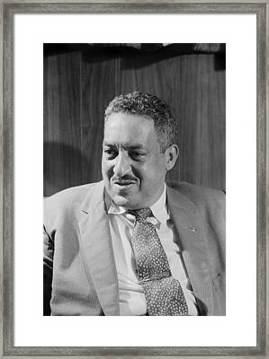 Thurgood Marshall 1908-1993, Attorney Framed Print by Everett