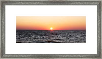 Framed Print featuring the photograph Thursday Morning by Anthony Rego