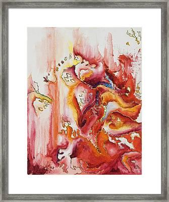 Tiara Framed Print by Vianne Korhorn