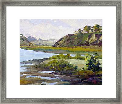 Tidal Back Bay Framed Print