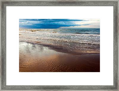 Tide Framed Print by Matt Dobson
