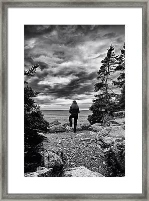 Tide Watcher Framed Print