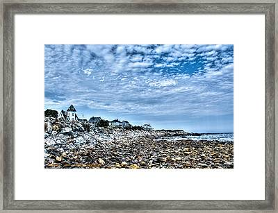 Tides Out Framed Print by Dan Crosby