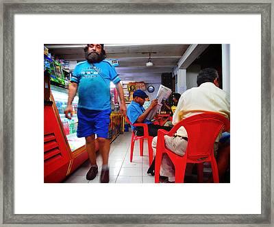 Tienda El Che Framed Print by Skip Hunt