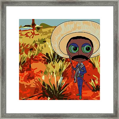 Tierra Y Libertad Framed Print