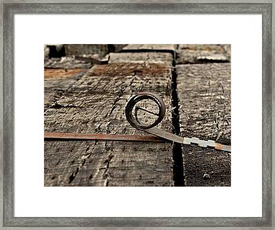Ties Framed Print by Odd Jeppesen