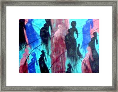 Ties That Bind Framed Print by Annette McElhiney