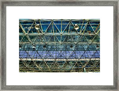 Tiete's Ceiling Framed Print by Ezequiel Rodriguez Baudo
