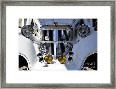 Tiffany Elite Model Framed Print
