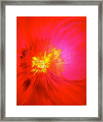 Tiger Flower.. Framed Print by Pretchill Smith