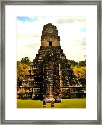 Tikal Framed Print by Daniel Morgan