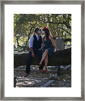 Framed Print featuring the photograph Till Death Do Us Part by Cheri Randolph
