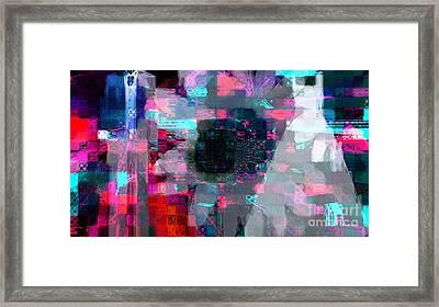 'till Ego Do Us Apart Framed Print by Fania Simon