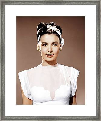 Till The Clouds Roll By, Lena Horne Framed Print by Everett
