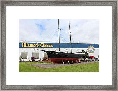 Tillamook Boat Framed Print by Michael Wolfe