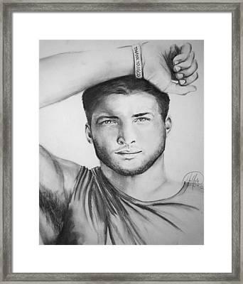 Tim Tebow Framed Print