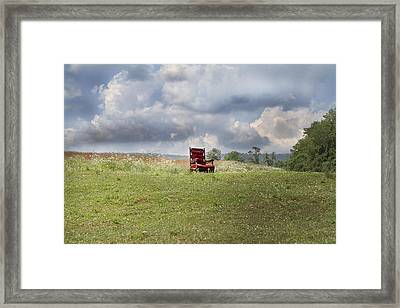 Time Alone Framed Print by Betsy Knapp