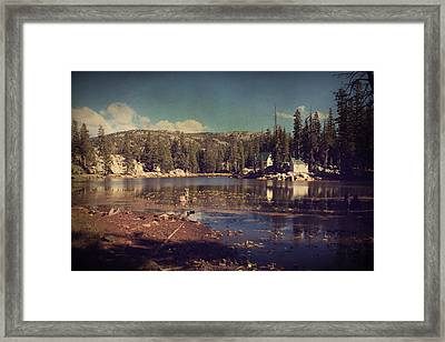 Time Always Reveals Framed Print by Laurie Search