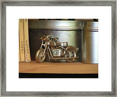 Framed Print featuring the photograph Time And Cycles by Rand Swift