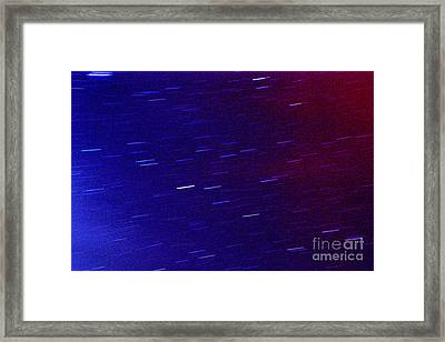Time And Space Framed Print by Thomas R Fletcher