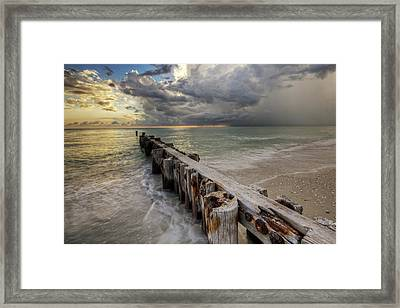 Time And Tide Framed Print by Nick  Shirghio